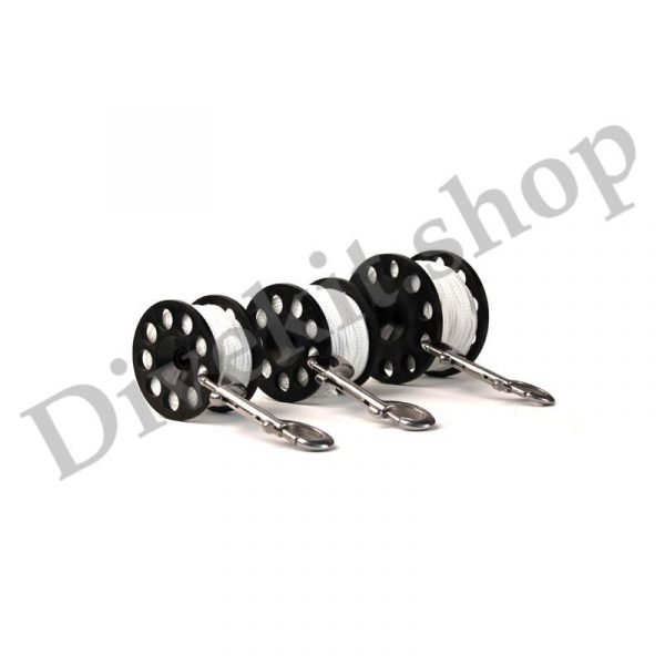Defender Pro 100 Safety Spool #24 Line, SS Double End Clip