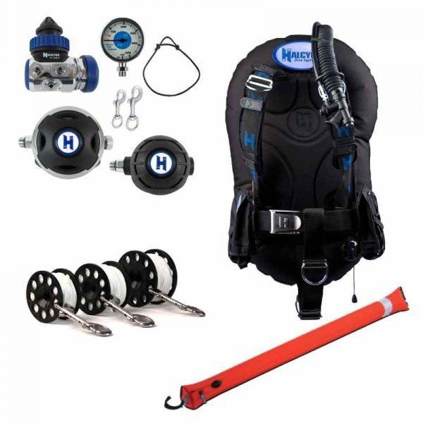 halcyon rec equipment deluxe package